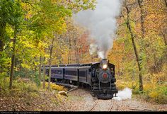 RailPictures.Net Photo: WWRR 98 Wilmington & Western Steam 4-4-0 at Wilmington, Delaware by Mitch Goldman