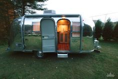 """Once completed, this gem of an Airstream glowed from the inside out."""