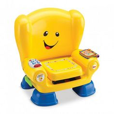 Buy a used Fisher-Price Laugh and Learn Smart Stages Chair - Yellow. ✅Compare prices by UK Leading retailers that sells ⭐Used Fisher-Price Laugh and Learn Smart Stages Chair - Yellow for cheap prices. Toys R Us, Brinquedos Fisher Price, Toddler Toys, Kids Toys, 80s Kids, Toddler Fun, Jouets Fisher Price, Fisher Price Baby Toys, 1 Year Old Girl