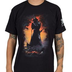 OFFICIALLY-licensed-FRAZETTA-Death-Dealer-shirt-XL