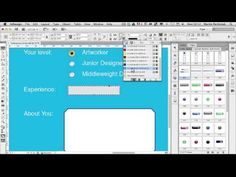 """""""How to Create Interactive Forms with Adobe InDesign,"""" from Web Designer Depot. Tool Design, Web Design, Adobe Illustrator Tutorials, Instructional Design, Adobe Indesign, Graphic Design Tutorials, Interactive Design, Photoshop Tutorial, Design Thinking"""
