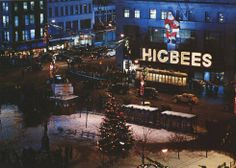 Higbee's Department Store, Cleveland (and yes, you might recognize this from the iconic movie, A Christmas Story)