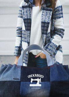 Blue jeans forever! #rekaboobag