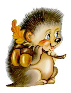 Hedgehog — «cartoon_ filii_ clipart»
