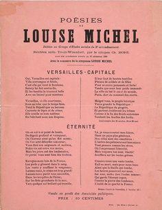 Poésies de Louise Michel