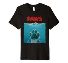 The Meg T-Shirt Jaws Parody Movie Poster Men/'s Funny T-Shirts