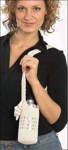 Ravelry Crochet Water Bottle Holder Pattern By Marty Miller I