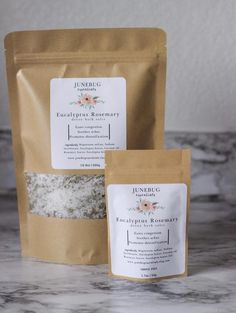 This eucalyptus rosemary detox bath soak is rejuvenating. Eucalyptus helps ease cold or allergy symptoms like congestion and rosemary helps boost energy and circulation. The base of the blend is Epsom salts and baking soda. When epsom salts are dissolved in warm water your skin is able to soak up the magnesium it contains transdermally. Baking soda helps aid in detoxification. This blend contains eucalyptus essential oil which is NOT recommended for childr #EpsomSaltFootSoak Detox Cleanse Water, Detox Bath Soak, Lavender Detox Bath, Cold Symptoms, Allergy Symptoms, Cold Or Allergies, Liquid Hand Soap, Eucalyptus Essential Oil, Whipped Body Butter