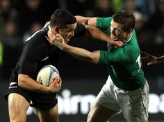 Two players who've undoubtedly defined rugby for this generation: Sonny Bill Williams (NZRU) & Brian O'Driscoll (IRFU).