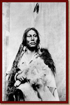 """Gall, Hunkpapa Lakota. """"El jefe de nuestro pueblo era el gran Gall"""" DAMA DE TREBOLES. Ed. La Esfera de los Libros."""