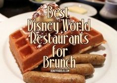Disney Brunch- The BEST meal of the day! For a free Disney Vacation quote contact leslie@onceuponatimevacations.com