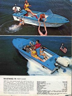 1950S Boats With Fins | Lone Star Boats And Trailers 1957 Boat Brochures Ads And Patents | old ...
