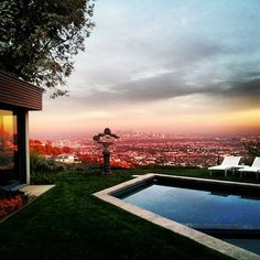 via @jetsetterdotcom on Instagram, hanging out in the Hollywood Hills