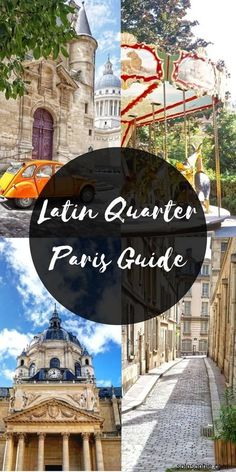 Latin Quarter Guide: Wandering around Medieval Paris! A quick guide to the Latin Quarter in Paris, home to one of the oldest universities in France. Things to do, what to see and plenty of historic architecture. Paris Travel Guide, Europe Travel Tips, Travel Destinations, Paris Tips, Asia Travel, France 3, Visit France, European Vacation, European Travel