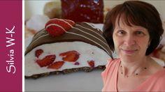 Yogurette mit Erdbeeren / Erdbeerkuchen ohne Backen - YouTube Cake Recipes, Deserts, Sweets, Food, Youtube, Recipes, Cake Ingredients, Strawberries, Cold Buffet Ideas
