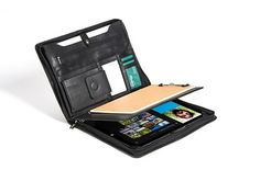 3-Ring Binder Padfolio with Mobile Power Cell, for Microsoft Surface 3