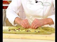 ▶ Treccia di pane al pistacchio di Bronte di Sara Papa - YouTube