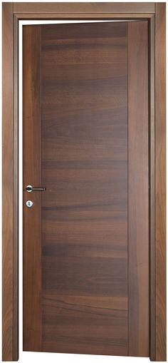 GAIA 10 #wood interior #door in noce nazionale by Pail #italiandesign