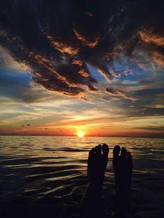 Sunset at Venice Beach, Florida ☀️