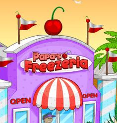 Papa s freezeria game ne which is a cool learning game in this game