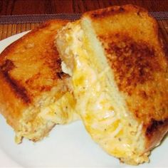 This is truly the Ultimate Grilled Cheese Sandwich. It disappeared so fast in my kitchen, it barely even had time to cool!