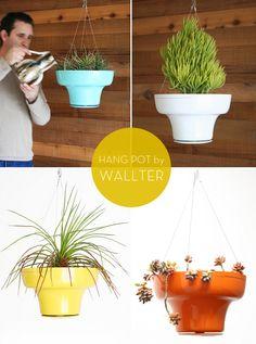 Hang Pot Planter ::Wallter - MAIYA - MY ADVENTURE IS YOUR ADVANTAGE :: ART / DESIGN / FASHION / DECOR