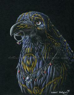 Crows Ravens:  #Raven, Rachel Balsaitis.