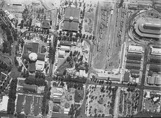 Aerial view of the State Fairgrounds, 1920
