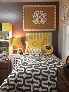 dorm room love the monogram cork board getting that next year - Cork Bedroom 2015