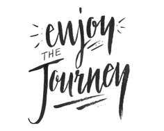 Citát ke stažení a vytištění. Enjoy the journey free inspirational quote.