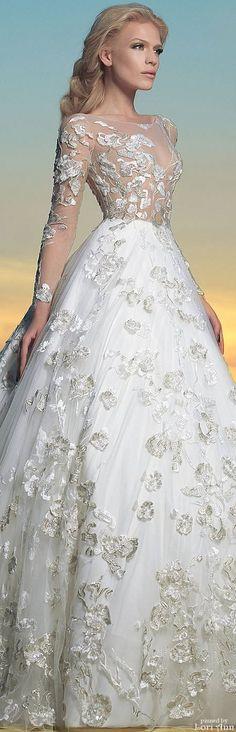 Charbel Karam Bridal Spring 2016