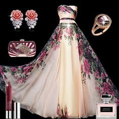 Awesome Floral print  Prom Dresses Find More----> http://www.imaddictedtoyou.com/