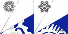Бумажные снежинки схемы (30 фото) Сайт Хоббимо (Море Хобби)