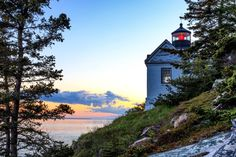 Narrower view of Bass Harbor Lighthouse. As posted on Facebook by Donald Groves