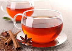 """Red tea is caffeine free, vegan and vegetarian safe, dairy free, gluten free and sugar-free. """"flushing fat away"""" is safe and rapid. Red tea also contains no fats or carbohydrates. The flavor is mild. Rooibos Tea Health Benefits, Cinnamon Tea Benefits, Red Tea Benefits, Sugar Cravings, Detox Recipes, Detox Tea, Diet Detox, Herbal Tea, Detox Drinks"""