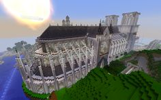 The Notre Dame Cathedral by Lostwave @ http://craftminer.org/Lostwave%20Builds.ashx