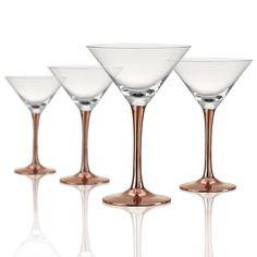 Coppertino Martini Glass