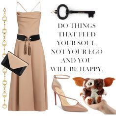 Key to life by ellenfischerbeauty on Polyvore featuring Valentino, Christian Louboutin, Tiffany & Co., Gucci, Balmain and Chanel