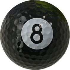 Opentip.com: Chromax Novelty Golf Balls Bulk--8 Ball