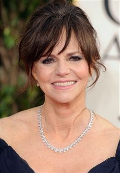 Sally Field. She is a fabulous actress. What a beautiful lady, time continues and we all age but Sally looks young and beautiful as always. God bless her she has always been a favorite (I dare to say a wonderful actor, like a friend to see her on Brothers & Sisters. Its like watching someone you have seen all your life and enjoyed her acting skills. She is gifted and so down to earth about it all. :)