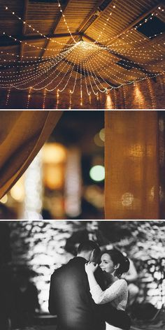 twinkling fairy lights wedding, image by Kitchener Photography http://www.kitchenerphotography.co.uk/