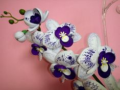 Quilling art White orchid Floral decorations Flower