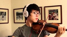Titanic - My Heart Will Go On - Jun Sung Ahn Violin Cover, via YouTube. I know he is not kpop, but he is soooo good at this!!!!