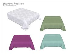 Severinka_'s Santorini - bed blanket