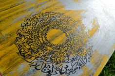 Original Islamic Calligraphy wall art made in New Zealand by Arfa Yasin. Shop for variety of Islamic art & home decor. Eid Gift, Islamic Calligraphy, Islamic Art, Gift Ideas, Free Shipping, Wall Art, Gifts, Painting, Home Decor