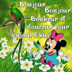 Bonjour Good Morning, Good Night, Mickey Mouse Wallpaper, Happy Friendship Day, Morning Messages, Love Images, Images Photos, Funny Photos, Anime