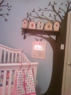 Bird houses in the nursery!