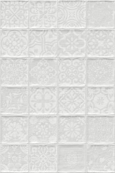 ETNIA: Tamil Blanco - 13x13cm. | Revestimiento - Pasta Roja | VIVES Azulejos y Gres S.A.
