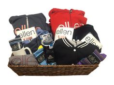 One of Ellen's newsletter subscribers is gonna be rockin' a ton of new Ellen gear, and it could be you! Enter here for your chance to win this awesome Ellen Shop gift basket!