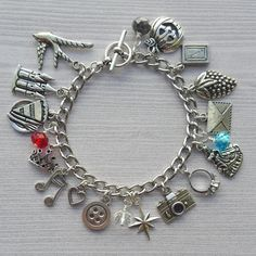 The Selection Charm Bracelet